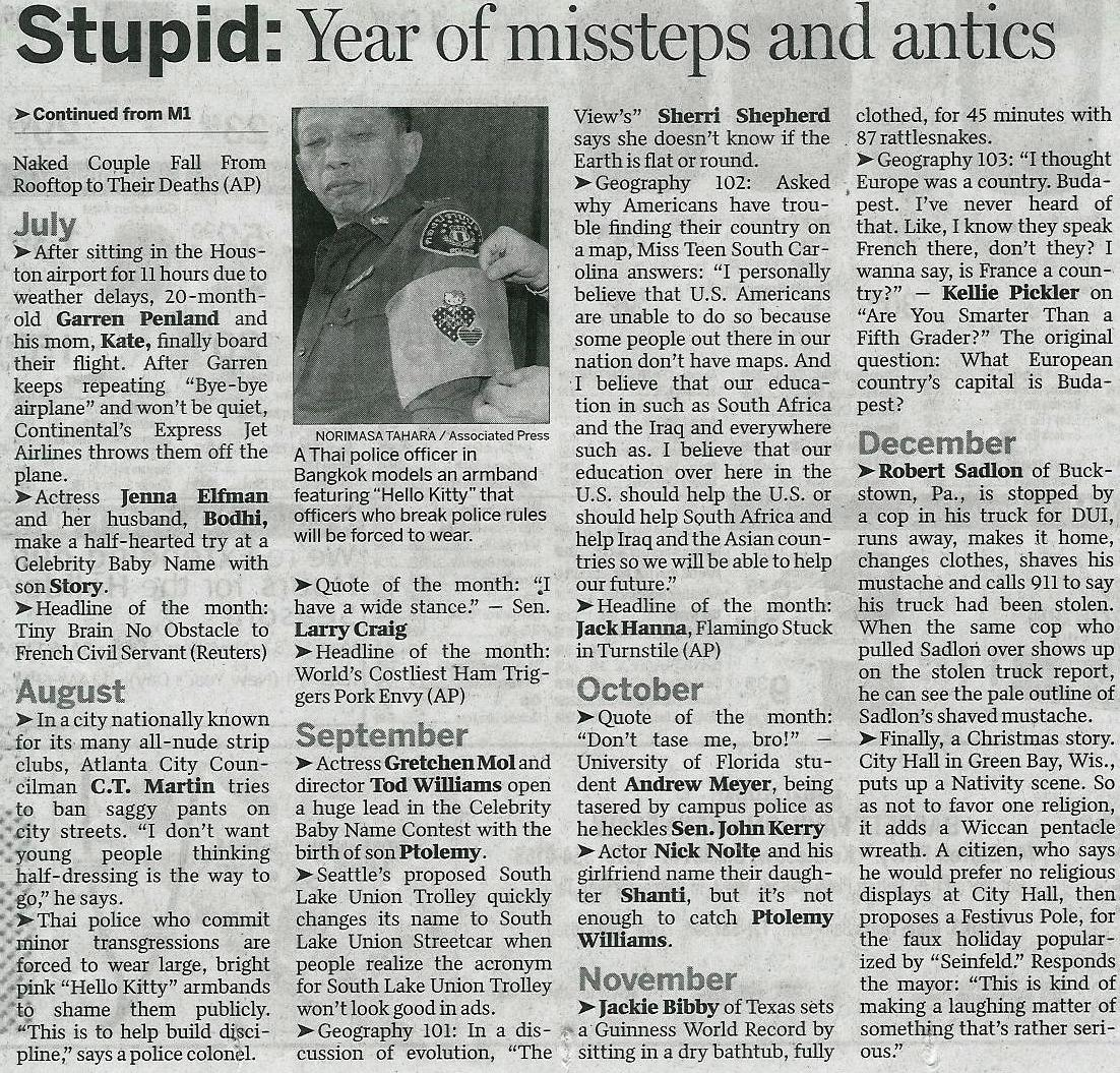 AJC 12 MONTHS OF STUPID 2007-05